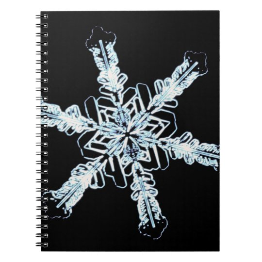 Stellar snow crystal notebook