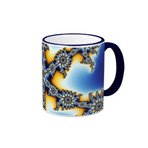 Stellar Snowflake Mugs