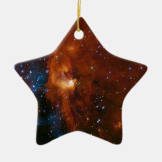 Stellar Star Birth RCW 108 NASA Ceramic Ornament