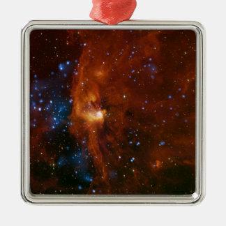 Stellar Star Birth RCW 108 NASA Metal Ornament