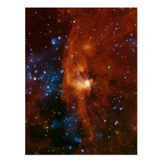 Stellar Star Birth RCW 108 NASA Postcard