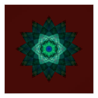 Stellar Verde Poster