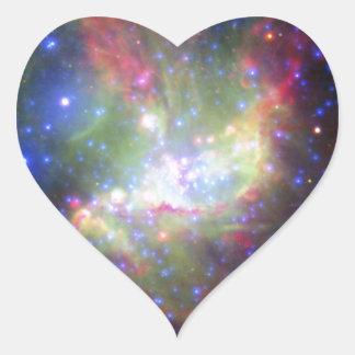 Stellar Work of Art Heart Sticker