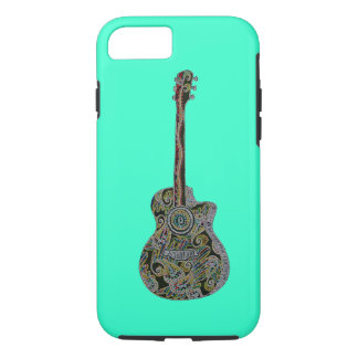 StellaRoot 1 Drawn Custom Vintage Guitar iPhone 7 Case