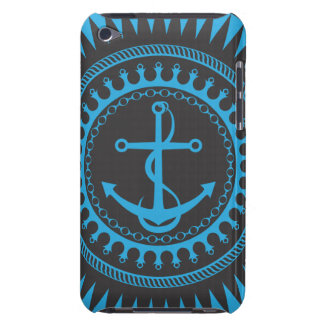 StellaRoot Anchor Down Blue iPod Case-Mate Cases