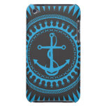 StellaRoot Anchor Down Blue iPod Touch Cover