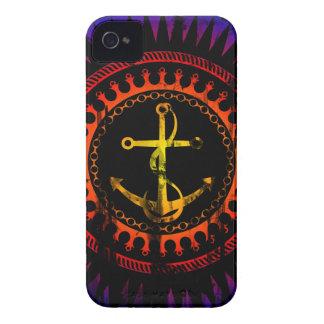 StellaRoot Anchor Down Gradient Grunge Distressed iPhone 4 Case