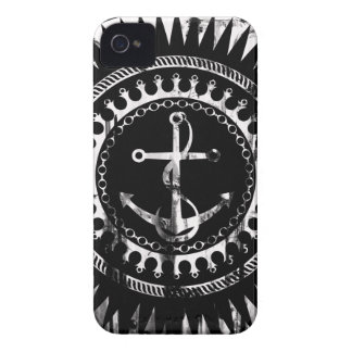 StellaRoot Anchor Down Grunge Distressed iPhone 4 Cover