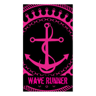 StellaRoot Anchor Down Pink Business Cards