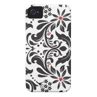 StellaRoot Capulet Damask Pattern iPhone 4 Covers