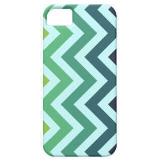 StellaRoot Chevron Fade to Ice Blue Customize iPhone 5 Covers