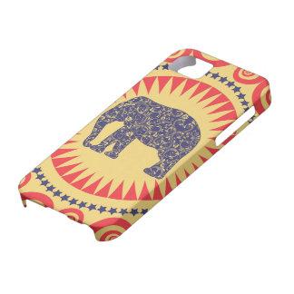 StellaRoot Damask Elephant Vinatge Preppy Burnt iPhone SE/5/5s Case