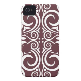 StellaRoot Damask Vintage Pattern Grunge iPhone 4 Case-Mate Case