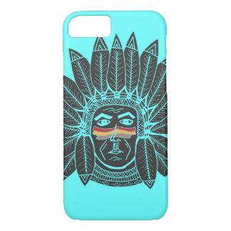 StellaRoot Drawn Vintage Chief Indian iPhone 7 Case