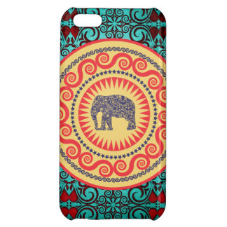 Stellaroot Elegant damask Elephant  Vintage iPhone 5C Cases