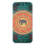 Stellaroot Elegant damask Elephant  Vintage iPhone 5 Case