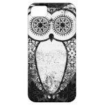 StellaRoot Hootie Owl Damask Grunge iPhone 5 Covers