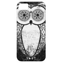 StellaRoot Hootie Owl Damask Grunge iPhone SE/5/5s Case