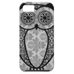 StellaRoot Hootie Owl Damask iPhone 5 Case
