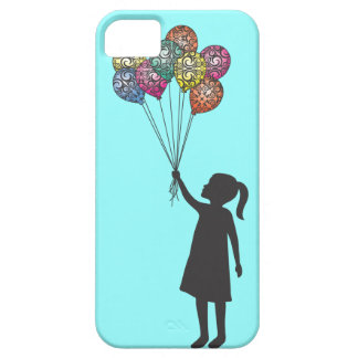StellaRoot Hope Floats Dreaming Girl Balloons iPhone 5 Case