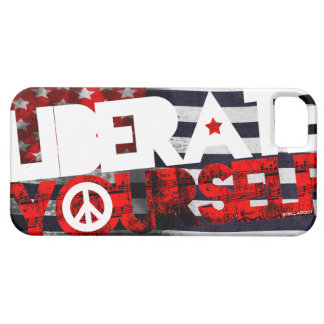 StellaRoot Liberate Yourself Music Election iPhone SE/5/5s Case