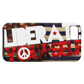 StellaRoot Liberate Yourself Peace Music Election iPhone SE/5/5s Case