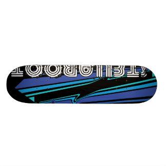 StellaRoot LookDown Blue Skate Board Deck