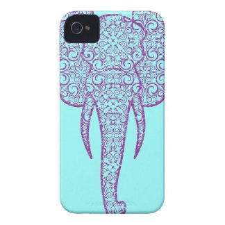 StellaRoot Peace Elephant Grunge iPhone 4 Case-Mate Case
