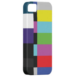 StellaRoot Retro TV Color Code Television vcr bars iPhone SE/5/5s Case