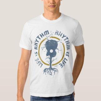 StellaRoot Rhythm Is Life Moss T-shirt