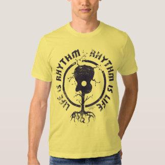 StellaRoot Rhythm Is Life Navy Tee Shirt