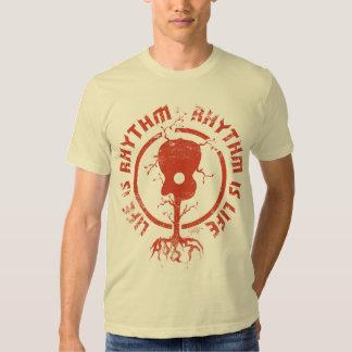 StellaRoot Rhythm Is Life Red T Shirt