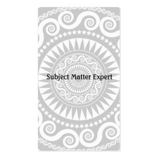 StellaRoot Subject Matter Business Card