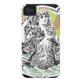 StellaRoot Victorian Mermaid iPhone 4 Covers