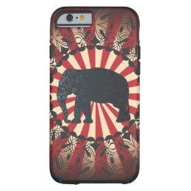StellaRoot Vintage Circus Elephant Free Mandarin iPhone 6 Case