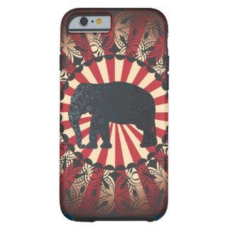 StellaRoot Vintage Circus Elephant Free Mandarin Tough iPhone 6 Case
