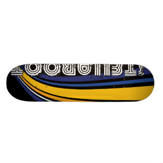 StellaRoot Wavy Blue Skateboard Decks