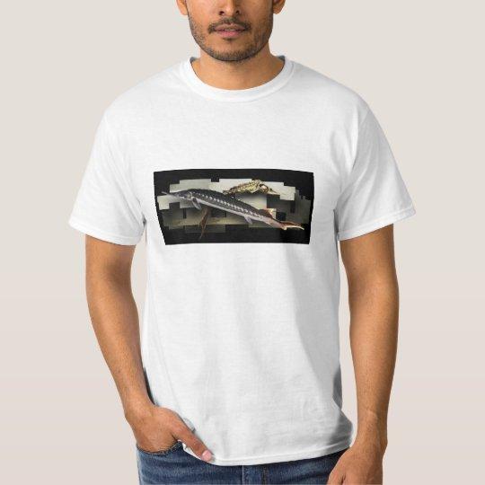 Stellate Sturgeon Collage T T-Shirt