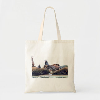 Steller Sea Lions Tote Bag