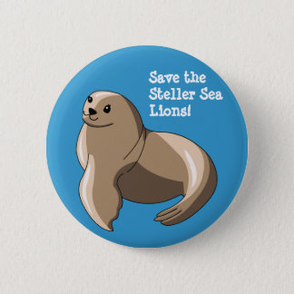 Steller Sea Lions Button