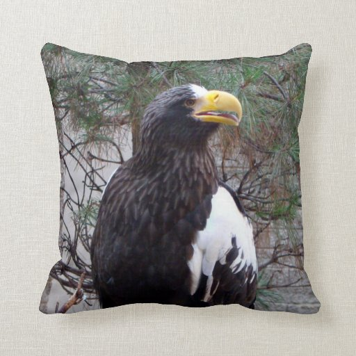 Stellers Eagle Pillow