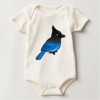 Steller's Jay Infant Organic Creeper