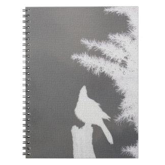 Steller's Jay Silhouette Notebook