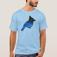 Steller's Jay Men's Basic T-Shirt