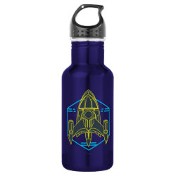 Water Bottle (24 oz) with Stellosphere Badge design