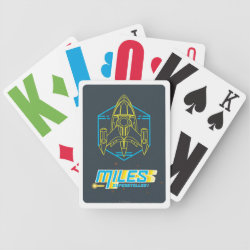 Playing Cards with Stellosphere Badge design