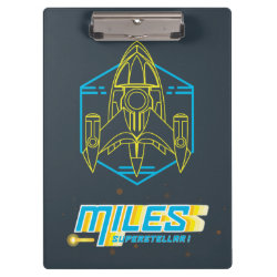 Clipboard with Stellosphere Badge design