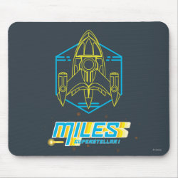 Mousepad with Stellosphere Badge design