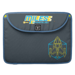 Macbook Pro 15' Flap Sleeve with Stellosphere Badge design