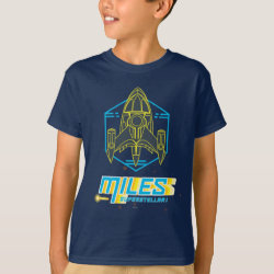Kids' Hanes TAGLESS® T-Shirt with Stellosphere Badge design